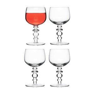 Sklenice na víno Spectra 4 ks, čiré