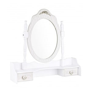 Oglindă de perete cu 2 sertare Bizzotto Charlene