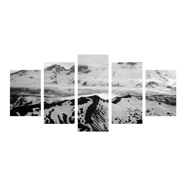 Vícedílný obraz Black&White Hills