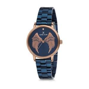 Modré dámské dámské hodinky z nerezové oceli Daniel Klein Caramia