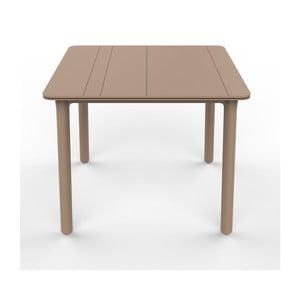 Béžový zahradní stůl Resol NOA, 90x90cm