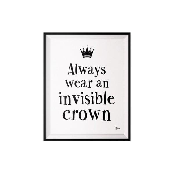 Plakát Crown, 40x50 cm