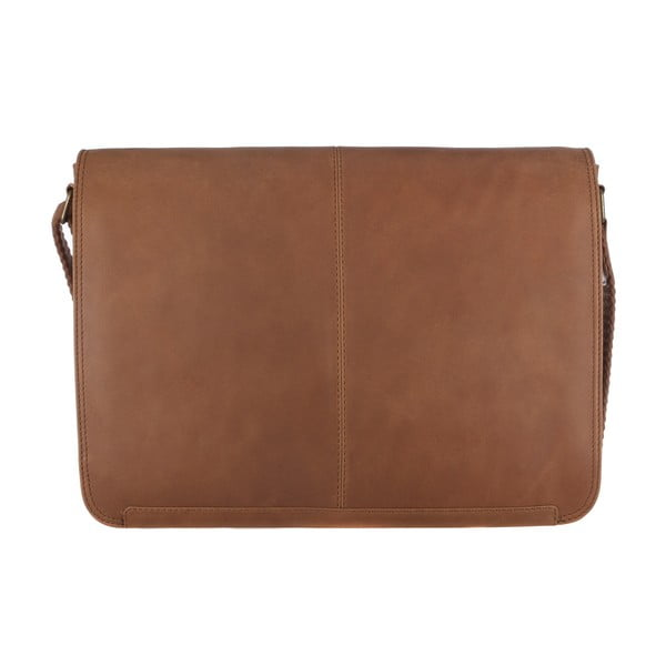 Kožená taška Croft Chestnut