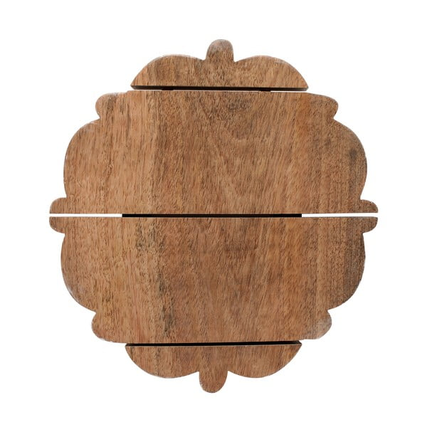 Dřevěné prkénko/podnos Vassolo, 26x26 cm
