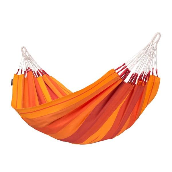 Houpací síť Orquidea, oranžová