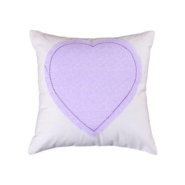 Povlak na polštář Corazon 40x40 cm, lila