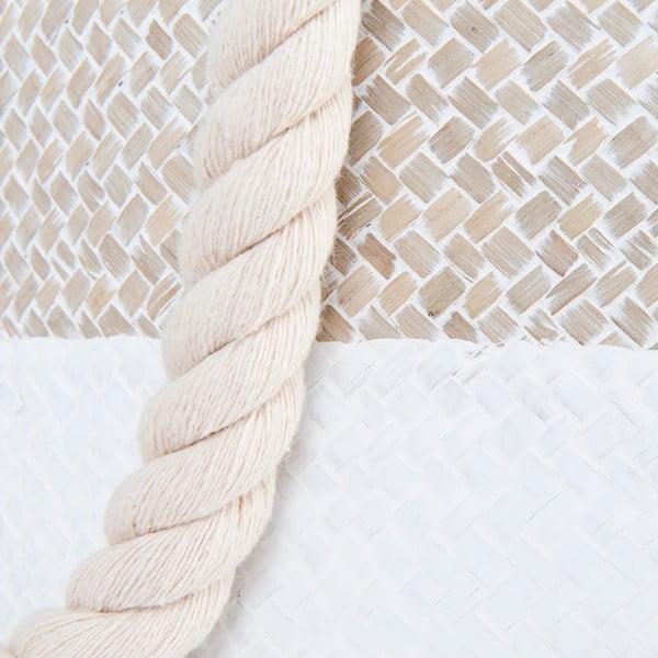 Coș depozitare alb Clayre & Eef Home