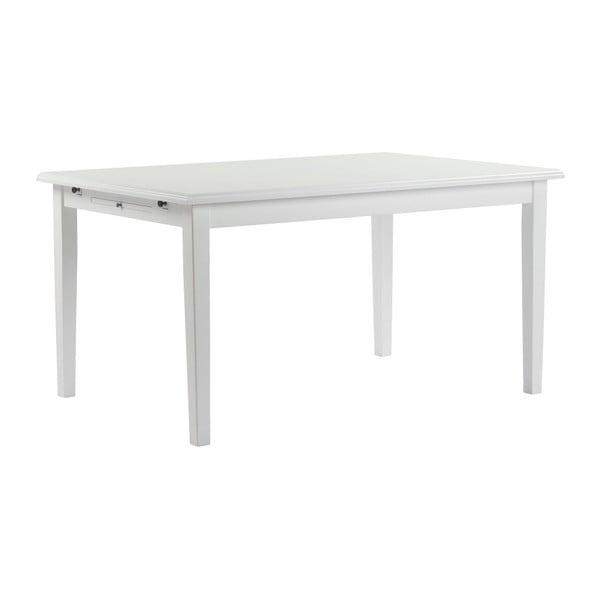 Bílý jídelní stůl Rowico Kosster, 140x100cm