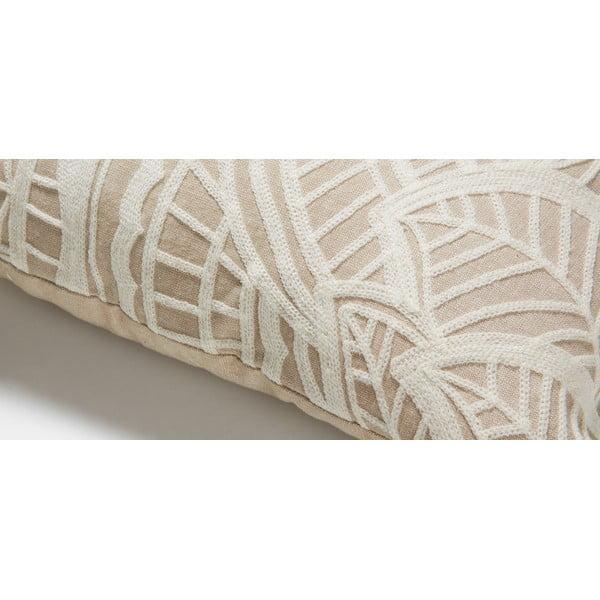 Bílá polštář La Forma  Minimal, 45x45 cm