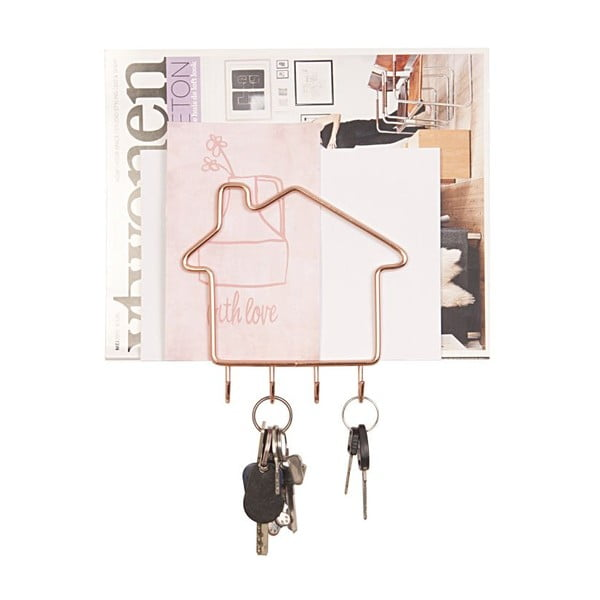 Věšák na klíče Key Home Copper