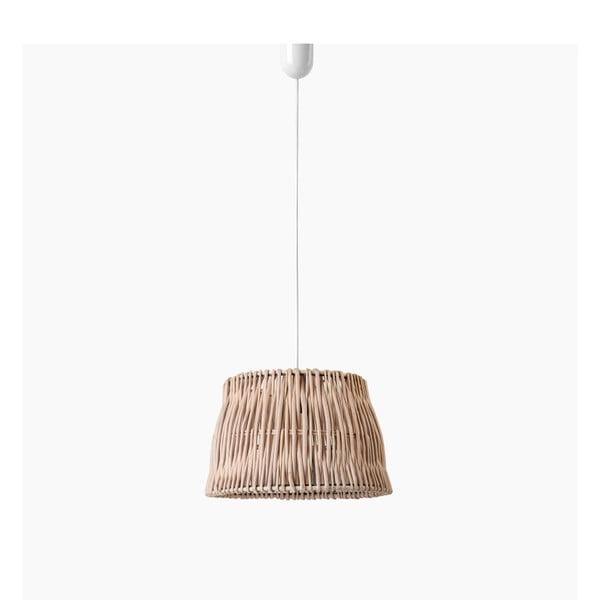 Stropní světlo Line, 27x18 cm, hnědé