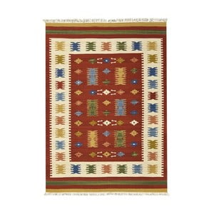 Ručně tkaný koberec Kilim Jasmine, 75x125cm