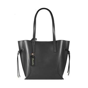 Černá kožená kabelka Maison Bag Ashley