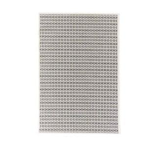 Černý vysoce odolný koberec Webtappeti Stuoia, 200x290cm