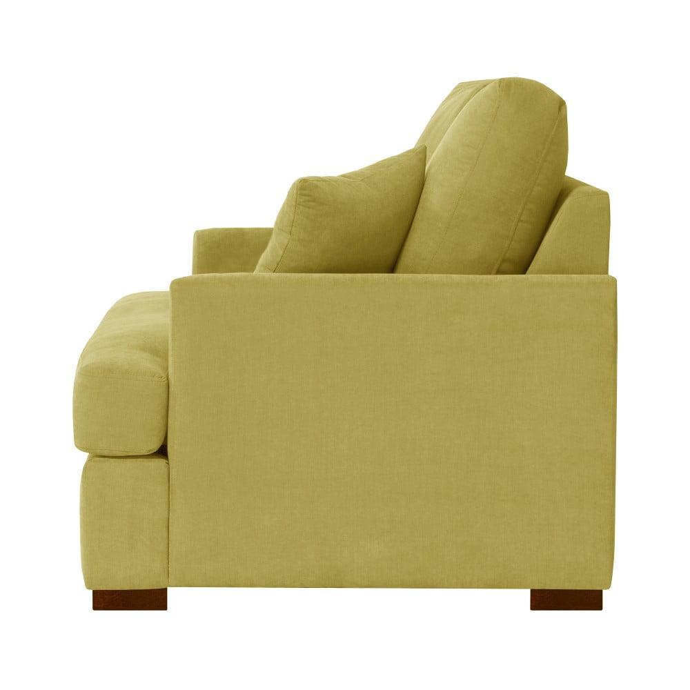 fotoliu jalouse maison irina galben bonami. Black Bedroom Furniture Sets. Home Design Ideas