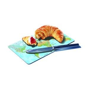 Podložka na krájení pečiva Remember Mundial, 23,5 x 14,3 cm