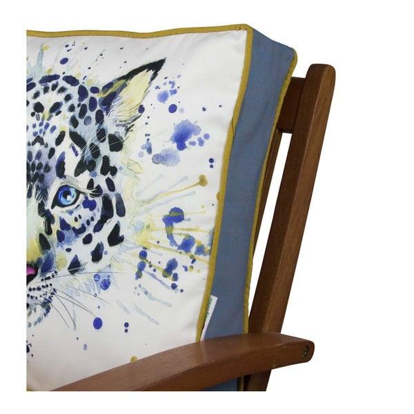 Pernă pentru scaun Gravel Wild Cat, 42x42cm,cuumplutură