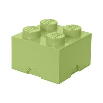 Cutie depozitare LEGO®, verde deschis imagine