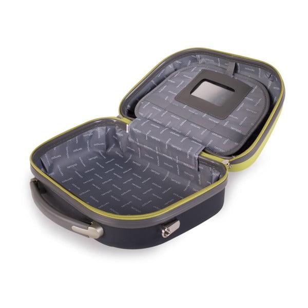 Zelený cestovní kosmetický kufřík Tempo