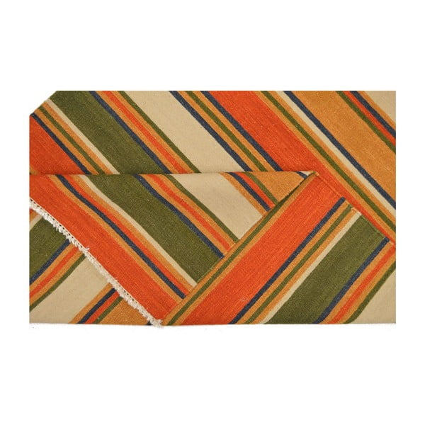 Vlněný koberec Kilim 35, 140x200 cm