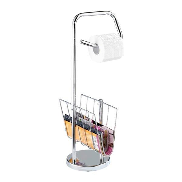 Noble nemesacél WC-papír tartó tárolóval - Wenko