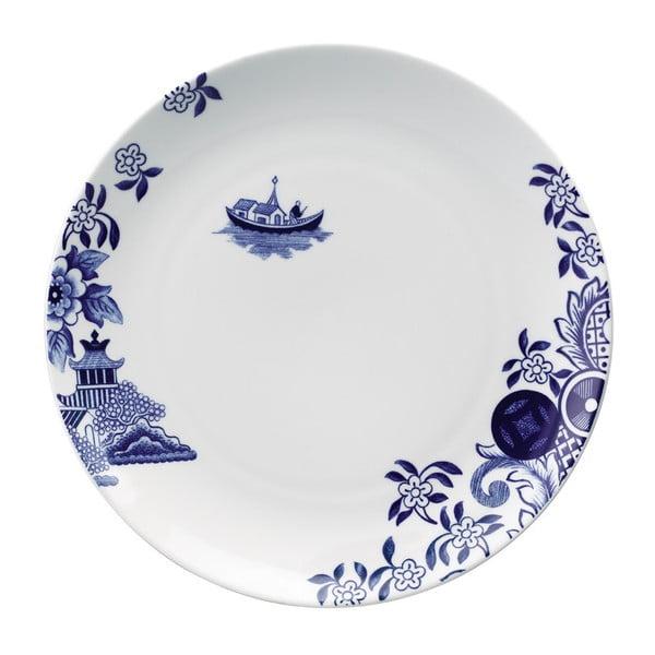 Porcelánový talíř Willow Love Story, 27 cm