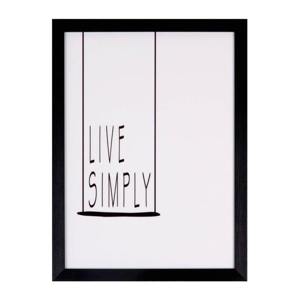 Simply kép, 30 x 40 cm - sømcasa