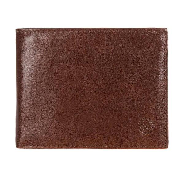 Pánská kožená peněženka Regent Chestnut/Dark Wallet