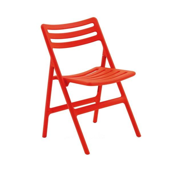 Oranžová skládací židle Magis Air