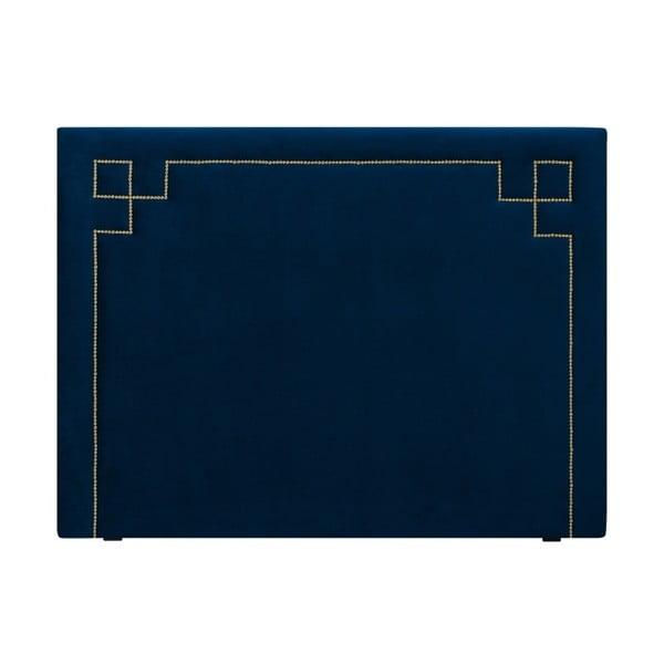 Tmavě modré čelo postele THE CLASSIC LIVING Nicolas, 120 x 200 cm