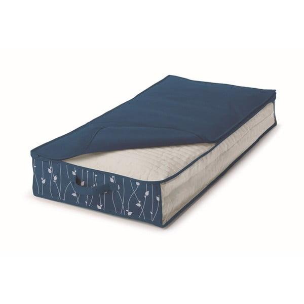 Cutie de depozitare din material textil Cosatto Leaves, lățime 50 cm, albastru