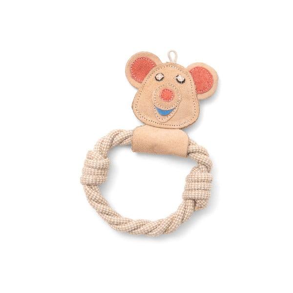 Ručně vyrobená hračka pro psy z přírodní kůže Marendog Bear