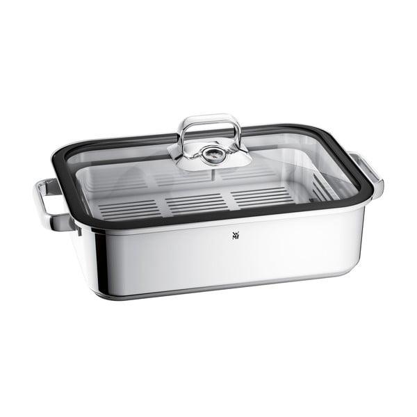 Tavă din oțel inoxidabil pentru gătit pe aburi WMF Cromargan® Vitalis, 6,5 l