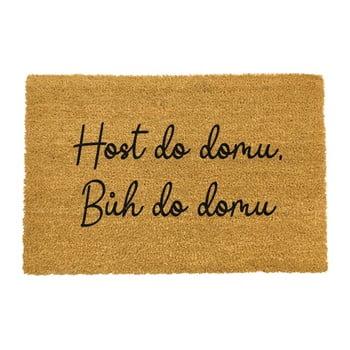 Covoraș intrare din fibre de cocos Artsy Doormats Host do domu, 40 x 60 cm imagine