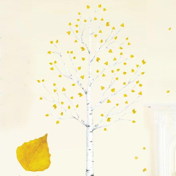 Znovu snímatelná samolepka Autumn Leaves
