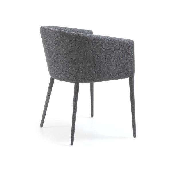 Židle Harmon, tmavě šedá