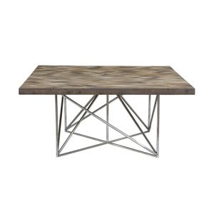 Jídelní stůl z borovicového dřeva Miloo Home 160x160cm