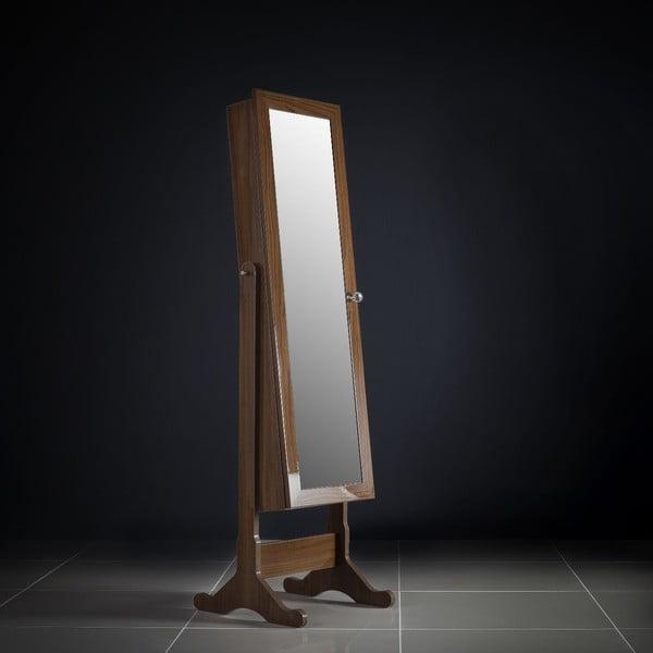 Uzamykatelné stojací zrcadlo se šperkovnicí Juliette