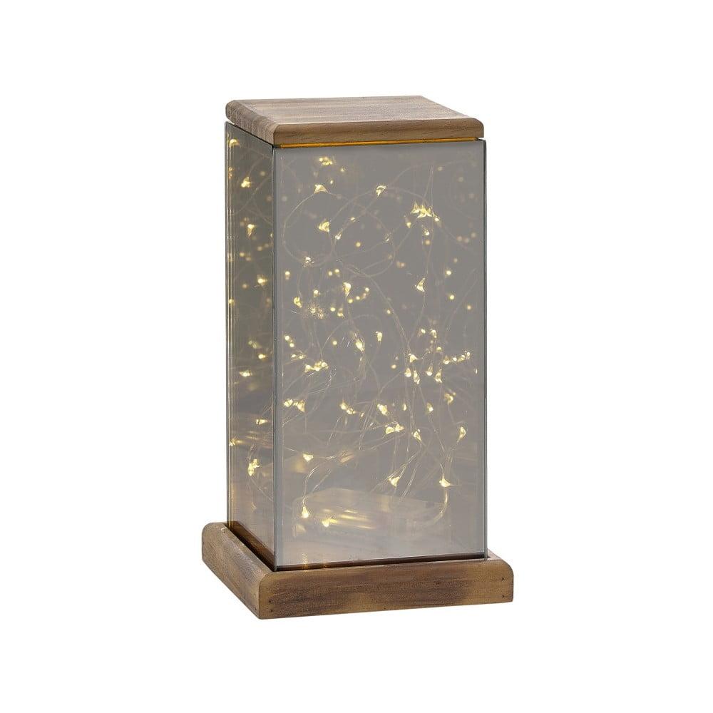 Lucerna s LED světýlky Villa Collection Lantern, 22,5 cm