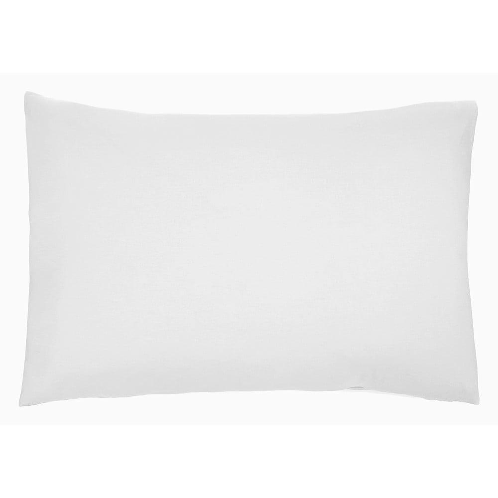 Sada 2 bílých bavlněných polštářů L'Officiel Interiors Les Essentiels, 40 x 80 cm