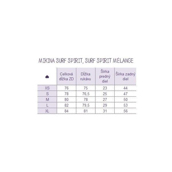 Mikina Surf Spirit, velikost S