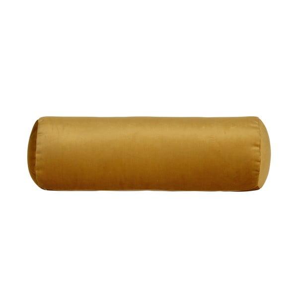 Pernă BePureHome Spool, lungime 61 cm, galben