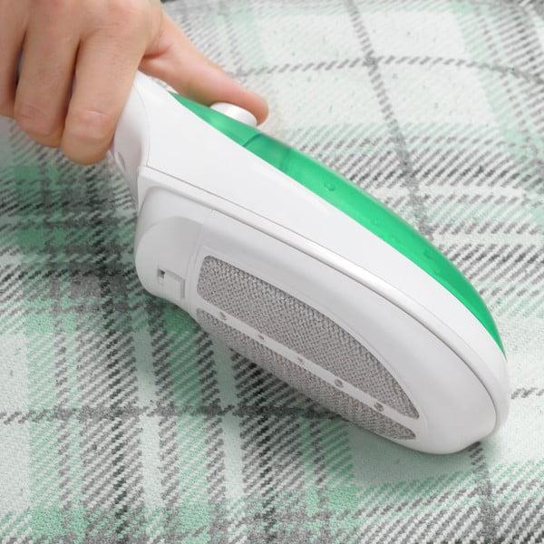 Bílo-zelená ruční napařovací žehlička InnovaGoods