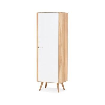 Dulap cu structură din lemn masiv de stejar Gazzda, 60 cm h imagine