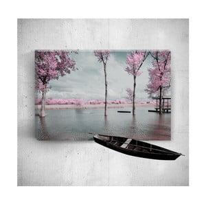 Nástěnný 3D obraz Mosticx Romantic Countryside, 40 x 60 cm