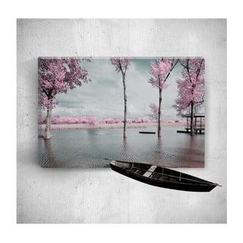 Tablou de perete 3D Mosticx Romantic Countryside, 40 x 60 cm