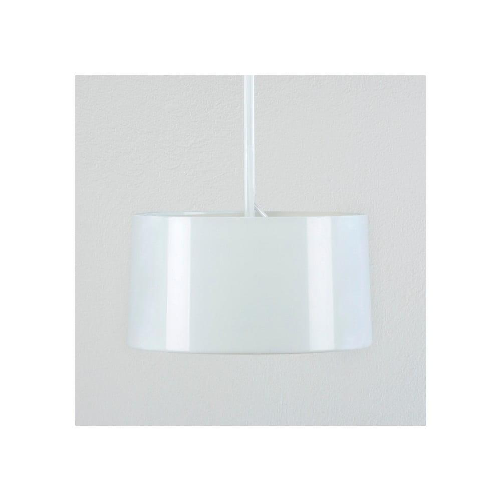 Bílá stropní se stínidlem lampa Thai Natura