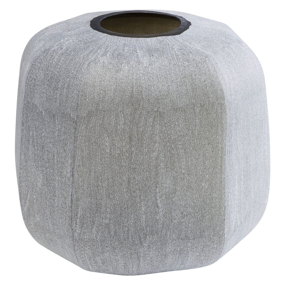 Skleněná váza Kare Design Rock Edge, výška 31cm