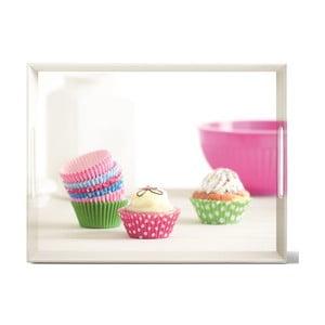 Podnos Classic Cup Cakes, 50x37 cm