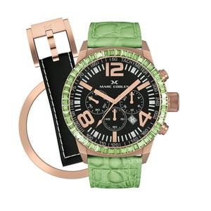 Dámské hodinky Marc Coblen s páskem a kroužkem navíc P86